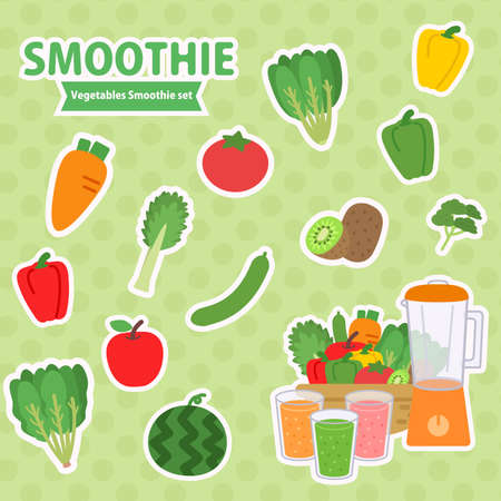 smoothie vegetables