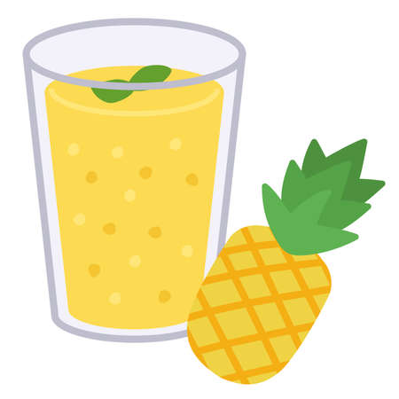 smoothie pineapple