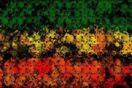 Green yellow red reggae background concept  Stock Photo