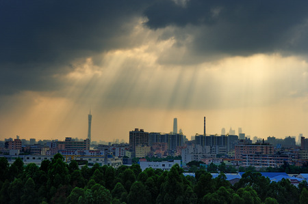 Guangzhou: Guangzhou City Scenery Editorial