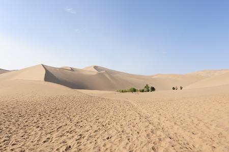 mountain oasis: mingsha mountain