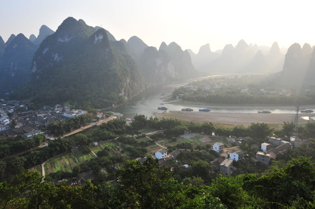 guilin: Guilin Scenery Stock Photo