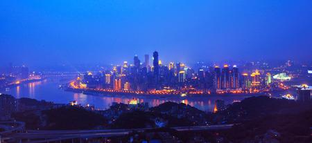 Chongqing night view