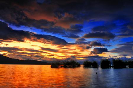 national geographic: Erhai lake