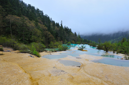 national geographic: Huanglong Scenic and Historic Interest Area