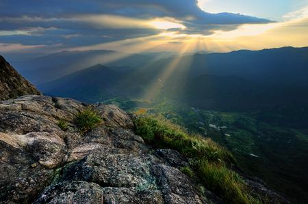 Guangdong gold mountain scenery