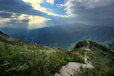 Guangdong gold mountain scenery