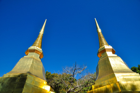 doi: doi tung temple,chiangrai thailand Stock Photo