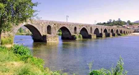 lima province: Portugal, Ponte de Lima: ancient roman Bridge