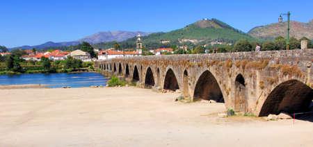 ponte: Portugal, Ponte de Lima: ancient roman Bridge