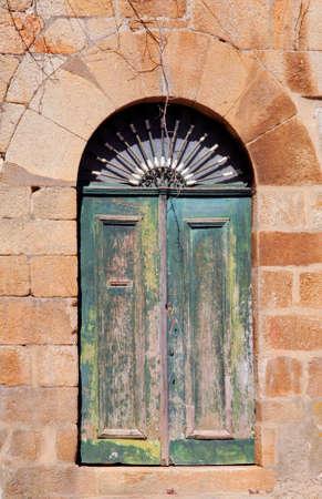 lima province: Portugal, Ponte de Lima, ancient monument, Old door