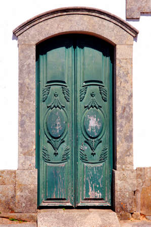 lima province: Portugal, Ponte de Lima, ancient monument, Old door