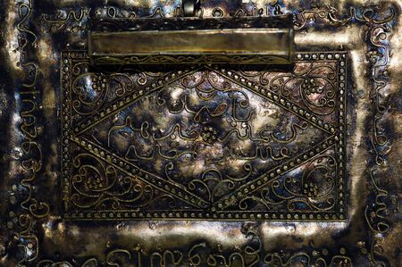 bijoux: Indonesia: Indonesia: Very old jewel probably in gold  Stock Photo