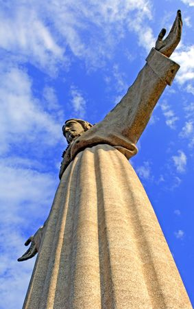 Portugal, Lisbon: Cristo-Rei is a Catholic monument overlooking Lisbon photo