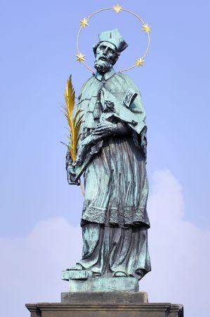 st charles: Repubblica Ceca, Praga: statue sul ponte st Charles