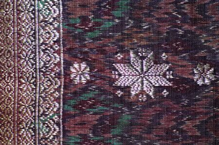 printed work: Indonesia, Java: Fabric with printed pattern; a traditional indonesian work