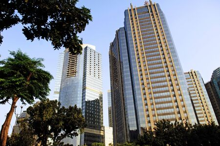 Indonesia, java: Jakarta, city view of the  modern center Stock Photo