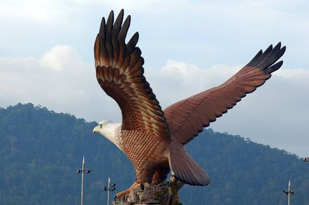 langkawi: Malaysia, Langkawi: The eagle with the open wings , symbol of Langkawi