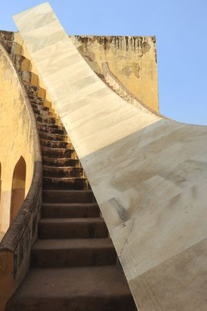 founder: India Jaipur Jaipur observatory sundial this is the largest sundial on planet earth ; constructed by the founder of the pink city , jaipur, the astronomer king maharaja jai sing