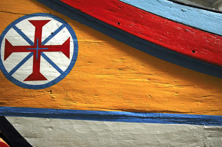 templars: Portugal, Lisbon: Decoration on a boat; the symbol of the templars became the national symbol