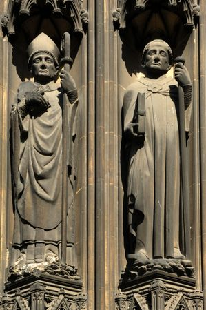 France Rouen: the gothic Cathedral of Rouen was the world's tallest building from 1876 to 1880. The Norman cathedral contain the tomb of Richard the Lion heart. Detail of the facade