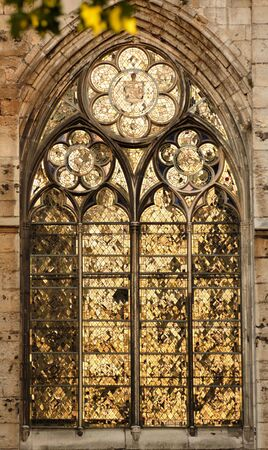 France Rouen: the gothic Cathedral of Rouen was the world�s tallest building from 1876 to 1880. The Norman cathedral contains the tomb of Richard the Lion heart. Detail of the facade