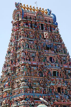 India Chennai: Indouist temple photo