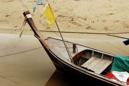 Thailand, Phuket: Long tail is the most popular boat in Southeast Asia Stock Photo - 3571338