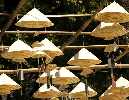 Hue in Vietnam: the traditional hand made  vietnamese conic hats