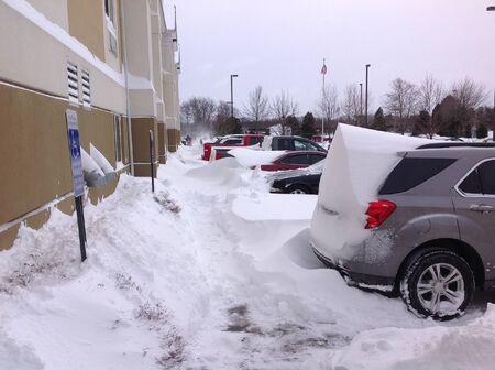 heavy snow: Heavy snow!
