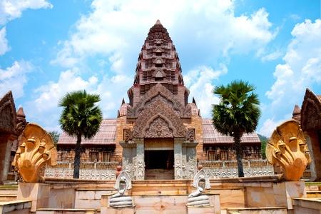 The cambodia castle in Thailand