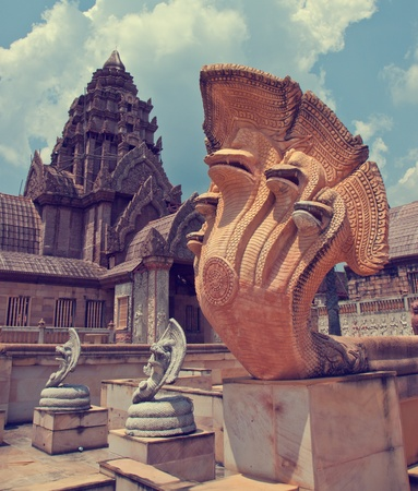 The cambodia castle in Thailand Stock Photo - 9451650