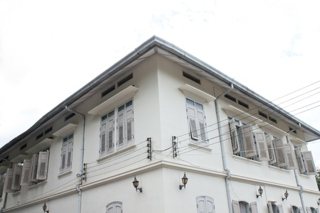 The old Thai post office