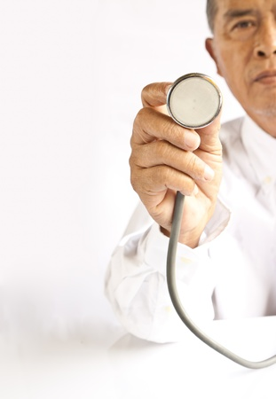 A doctor with a stethoscope Stock Photo - 10863953
