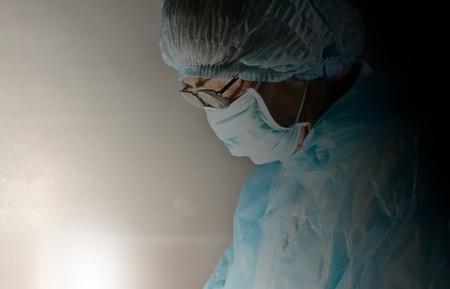 A doctor in emergency room