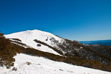 Winter landscape in the Melbourne