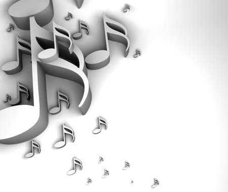 music note background design Stock Photo - 16708298