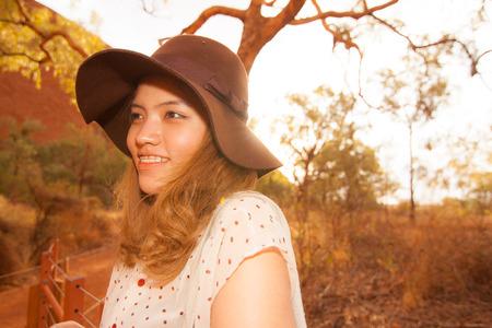 ayers: The Uluru with the blue sky