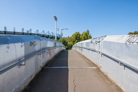 The path of the bridge