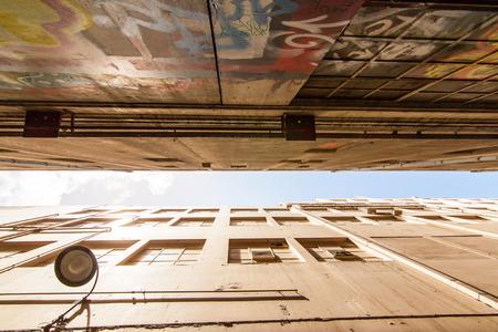The buildings in Melbourne Australia