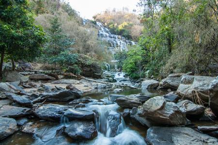 mea: Mae Ya Waterwall, Inthanon National Park, Chiangmai, Thailand