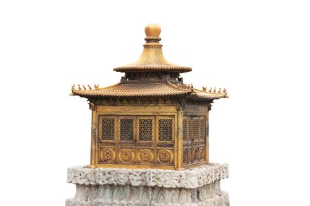 The decoration of Forbidden City in Beijing, China
