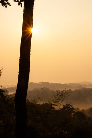 Nam Nao national park in the morning. Petchaboon, Thailand
