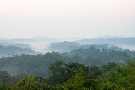 Nam Nao national park in the morning. Petchaboon, Thailand Banco de Imagens