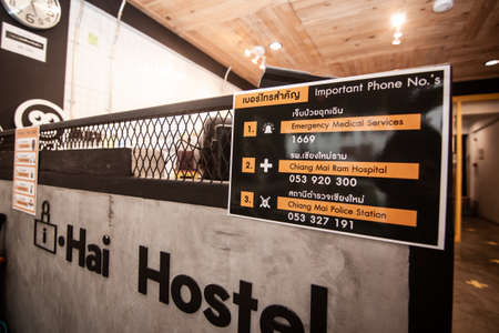 Haihostel screening process for travellers