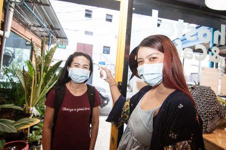 Haihostel people screening, Chiang Mai, Thailand