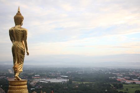 Buddha image at Wat Phra That Khao Noi
