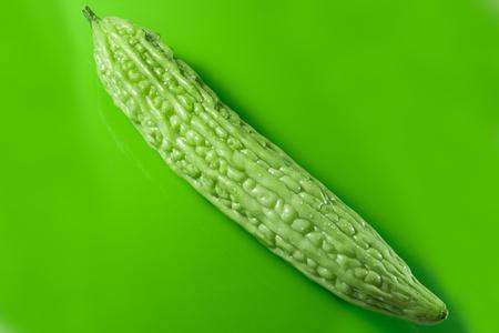 Balsam pear Stock Photo