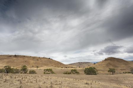 A hot dry summer in Tasmania with dry views in the Highlands.