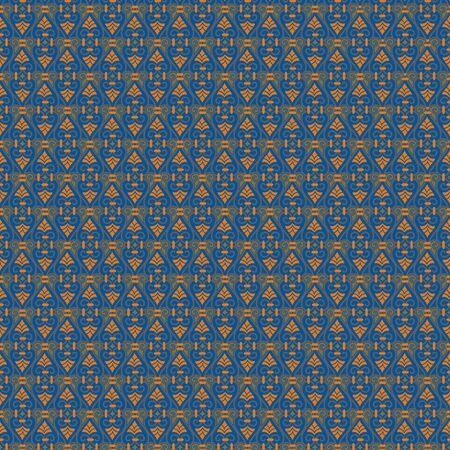 Seamless pattern or two colours in blue background Ilustracja